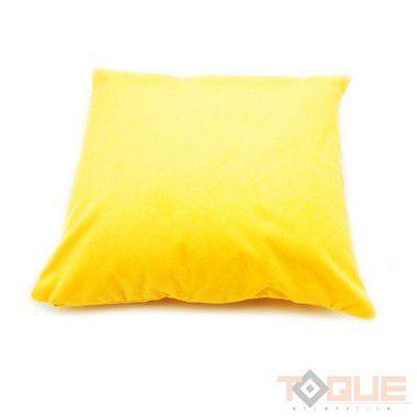 Capa de Almofada amarela