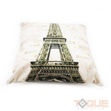 Capa de Almofada Torre Eiffel