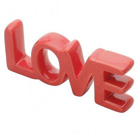 Letras Decorativa Love Vermelha