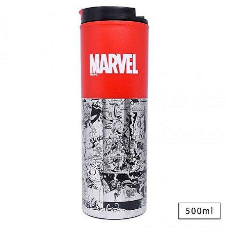 Copo Viagem de Alumínio Marvel Classic