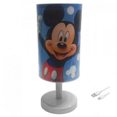 Luminária de mesa do Mickey - Disney