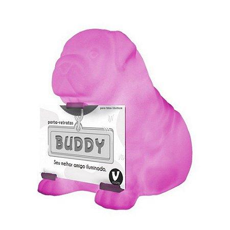 Luminária Buddy rosa