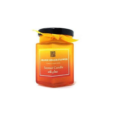 Vela aromatizada Orange Ginger Flower