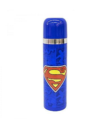Garrafa Térmica Super Homem 500ml - Liga da Justiça