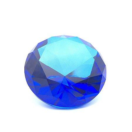 Enfeite Diamante Azul
