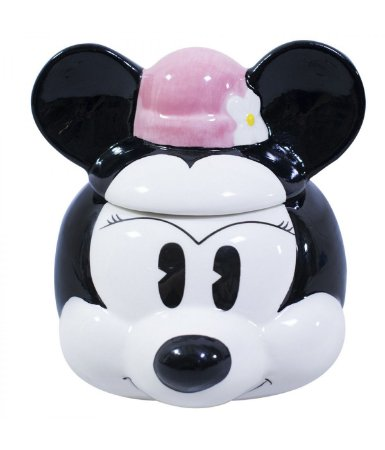Caneca Porcelana Rosto Minnie