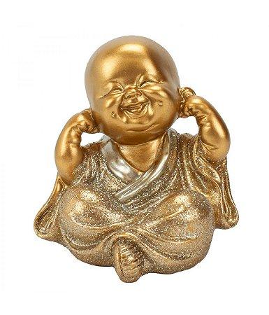Monge Dourado Não Ouço 8cm
