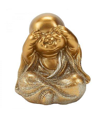 Monge Dourado Não Vejo 8cm