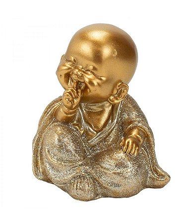 Monge Dourado Não Falo 8cm