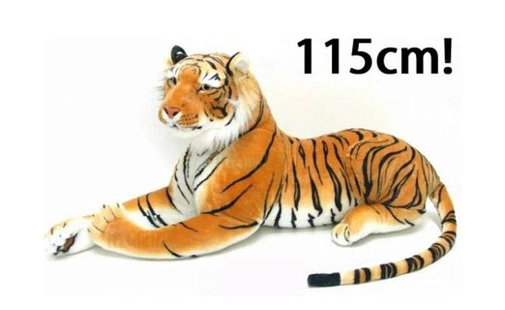 Tigre Deitado - Pelúcia