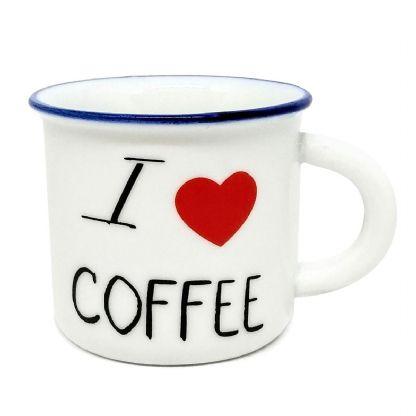 Caneca I love COFFEE