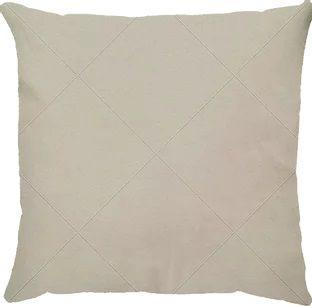Capa de almofada suede branca drapeada