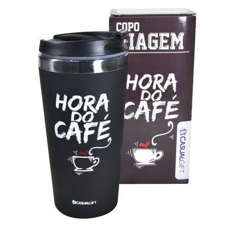 Copo térmico viagem hora do café 450 ml