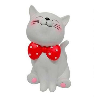 Cofre de resina gato cores sortidas