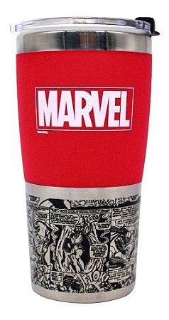 Copo de viagem Marvel