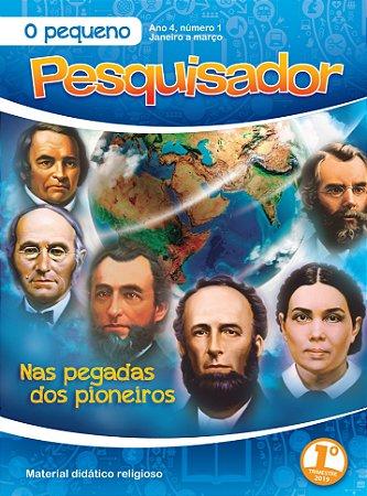 LIÇÃO PEQUENO PESQUISADOR 2019- 1TRIM