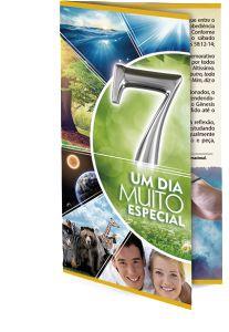 FOLHETO 7 UM DIA MUITO ESPECIAL - MIL UNIDADES
