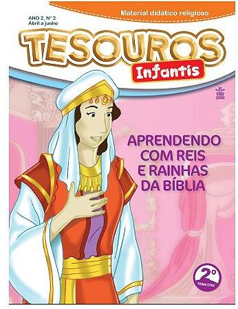 LIÇÃO TESOUROS INFANTIS 2020 - 2ºTRIM ( ANO2- Nº2)