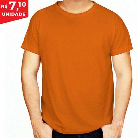 KIT 05 PEÇAS - Camiseta poliéster laranja