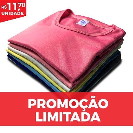 KIT MULTI 10 PEÇAS  -  Baby Look algodão cores sortidas