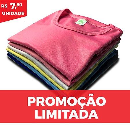 KIT MULTI 10 PEÇAS  -  Baby Look helanquinha cores sortidas