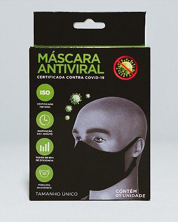 Máscara Antiviral - Reutilizável