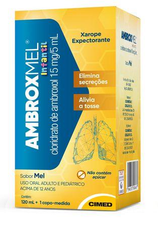 AMBROXMEL XAROPE INFANTIL 120ML (VENC: 31/10/2021)
