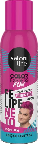 Color Express Fun Spray Color Felipe Neto 150 ml Pink