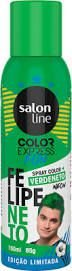 Color Express Fun Spray Color Felipe Neto 150 ml Verde