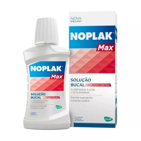 NOPLAK MAX SOL ANTI-SEPTICO 250ML