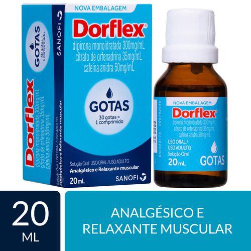 ANALGÉSICO DORFLEX GOTAS 20 ML