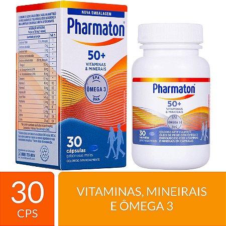 MULTIVITAMÍNICO PHARMATON 50+ 30 CÁPSULAS
