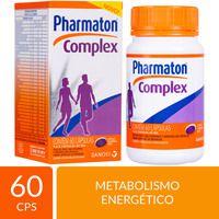 MULTIVITAMÍNICO PHARMATON COMPLEX 60 CÁPSULAS