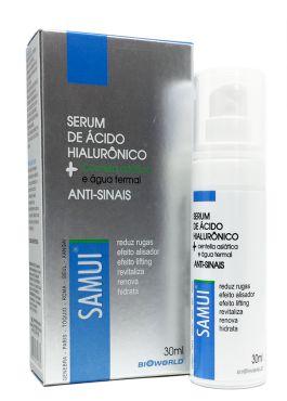 Serum Água Termal + Ácido Hialurônico Anti Sinais 30 ml Samui