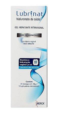 Lubrinat Gel Hidratante Intravaginal 30g +10 Aplicadores