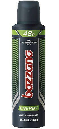 Desodorante Masculino Bozzano Energy, aerosol, 150mL