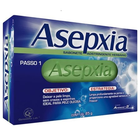 SABONETE ASEPXIA ADSTRINGENTE HERBARIO 85 G