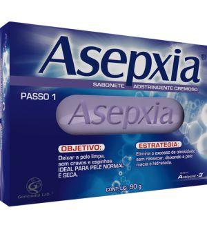 SABONETE ASEPXIA ADSTRINGENTE CREMOSO 90GR
