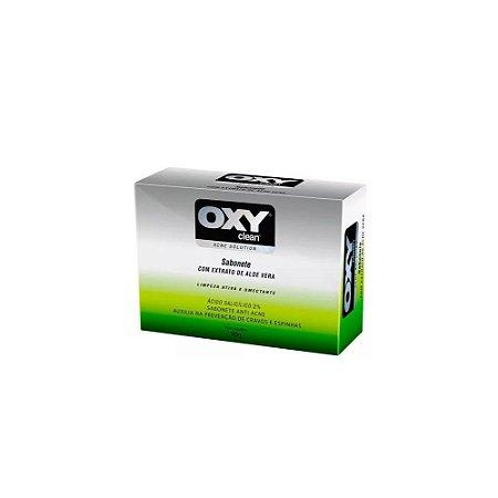 SABONETE OXY CLEAN C/ EXTRATO DE ALOE VERA 90G