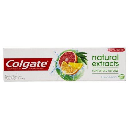 COLGATE NATURAL EXTRACTS CITRUS E EUCALIPTO 90G