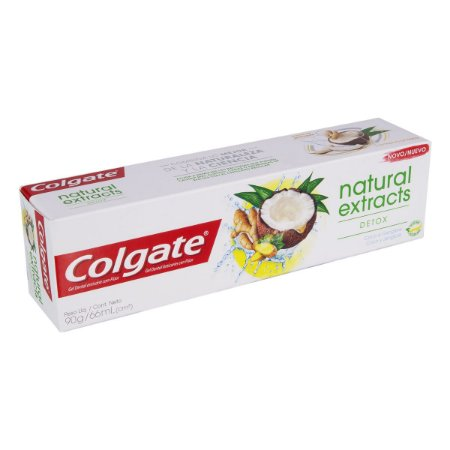 COLGATE NATURAL EXTRACTS DETOX COCO E GENGIBRE 90G