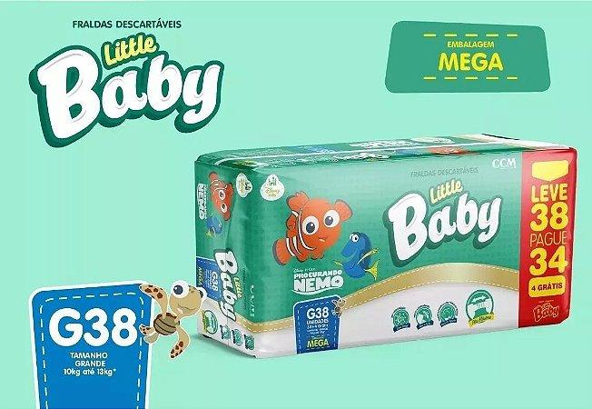 FRALDA LITTLE BABY NEMO MEGA G L38P34