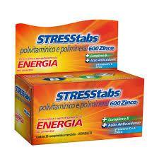 STRESSTABS ZINCO 600 FR 30 COMP