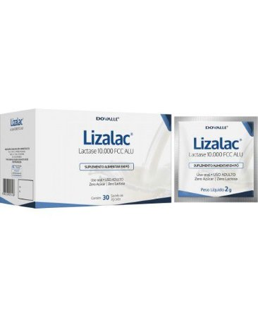 LIZALAC 2G 10000FCC CX 30 SACHES 2 G