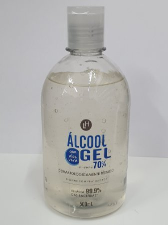 ALCOOL GEL 70% C/500 ML C/ALOE VERA