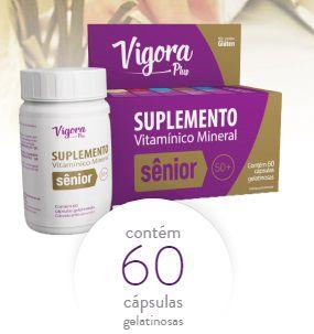 VIGORA PLUS  SENIOR 50+  C/60CAP
