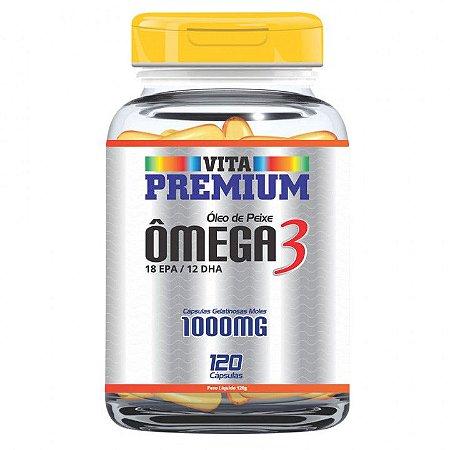 VITA PREMIUM OMEGA 3-1000MG C/120CPS