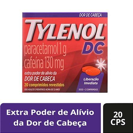 TYLENOL DC COM 20 COMPRIMIDOS REVESTIDOS