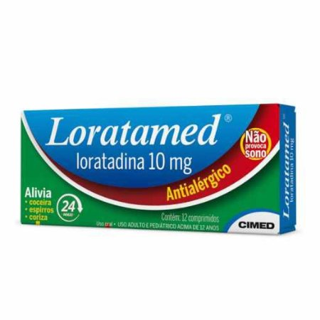 LORATAMED 10MG CX 12 COMP