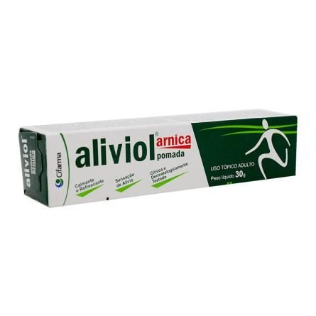 ALIVIOL ARNICA POMADA 30 GRS
